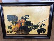 Bild Früchtekorb von Caravaggio - nachgemalt