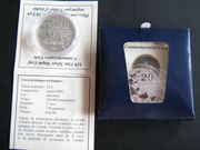 20 Dollar Silber Münze Kanada