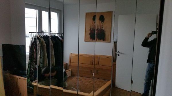 Schlafzimmer Set KleiderschrankBett Matratze Lattenrost In - Schlafzimmer set mit matratze und lattenrost