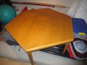 Tisch sechseckig ausziehbar,