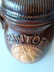 Rumtopf aus Keramik