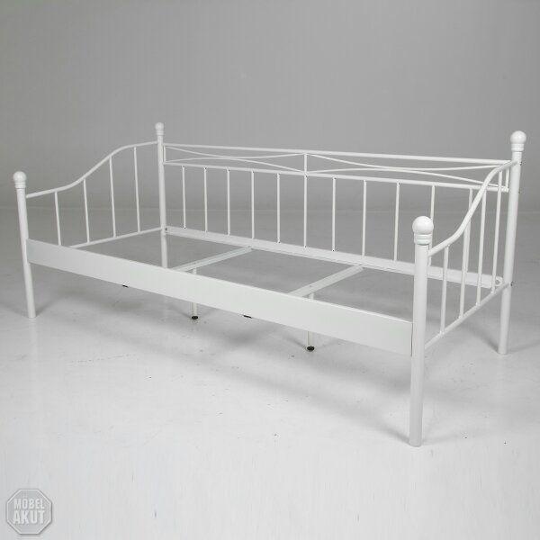 metallbett mit lattenrost stunning bett mit boxspring. Black Bedroom Furniture Sets. Home Design Ideas