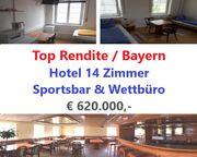 Hotel - Sportsbar - Wettbüro