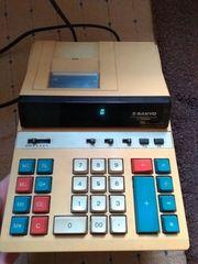 Rechenmaschine Tischrechner - Sanyo CY6100DP