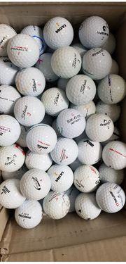 100 gebrauchte Golfbälle für die