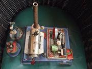 Wilesco-Dampfmaschine mit Generator Zubehör