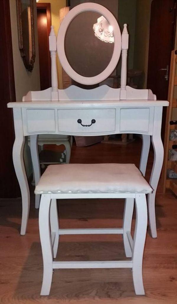 schminktisch wei gebraucht kaufen 4 st bis 75 g nstiger. Black Bedroom Furniture Sets. Home Design Ideas