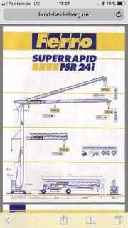 Schnellmontagekran Ferro FSR