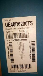 Samsung UE40D6200TS TOP