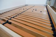 Bett aus Massivholz 140 x