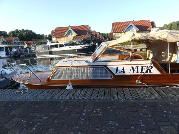 Mahagoni holzboot  Original Oldtimer Mahagoni-Holzboot in Mörsfeld - Motorboote ...