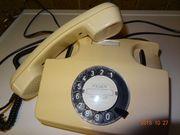 Post Telefon beige Wählscheibentelefon ca