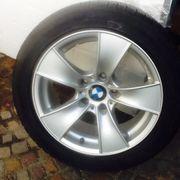 Winterreifen auf Alufelgen BMW Michelin