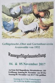 GEFLÜGELAUSSTELLUNG Gütersloh-Avenwedde