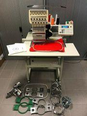 Stickmaschine Embroidery Maschine BROTHER BE-1201B-AC