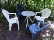 Gartenmöbel, Sitzgruppe, 4