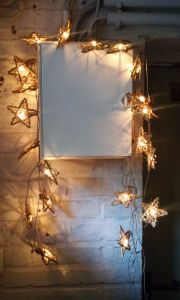 Lichterkette Sterne...