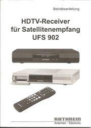 HDTV- Receiver für Satellitenempfang UFS