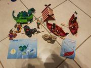 Wikinger Seeungeheuer Boot 3155 Playmobil