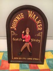 Johnny Walker Werbetafel