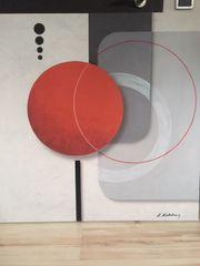 Modernes Bild; Wandbild,