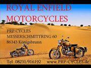 Royal Enfield Motorcycles in Königsbrunn