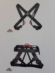 Kletter-STUBAI-Komplettgurt Brust u Sitzgurt