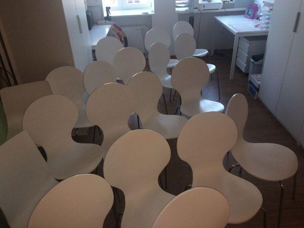 Schalensitz sessel - Stuhle stapelbar gepolstert ...