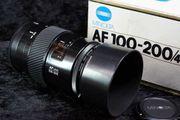 Objektiv MINOLTA AF 100-200mm f4