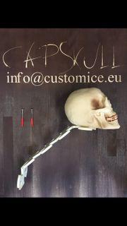 CapSkull Helmhalter Wandhalterung