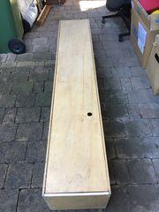 2 m Holzkiste für Werkzeug