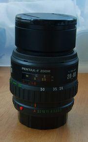 SMC Pentax F-Zoom 28-80mm