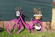 Deko Fahrrad zu