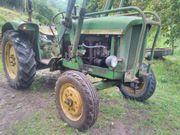 Oldtimer Schlepper Traktor