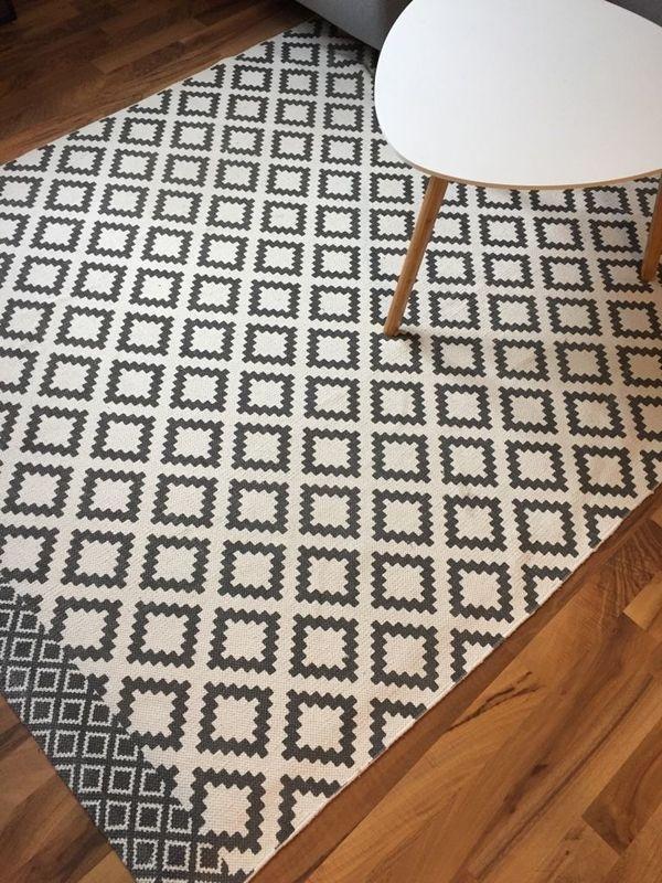 skandinavischer jacquard muster teppich 1 - Jacquard Muster