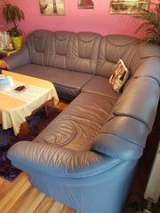 kunst leder sofa
