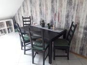 neuwertiger Esstisch mit Stühlen