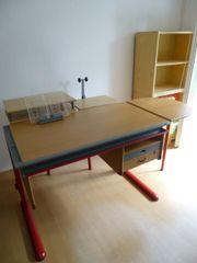 Moll Schreibtisch Anbauten optional TOP-Zustand