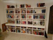 Wohnwand Bibliothek Hochglanz