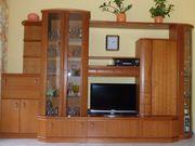 Wohnzimmerschrank Kirschbaum massiv Holz