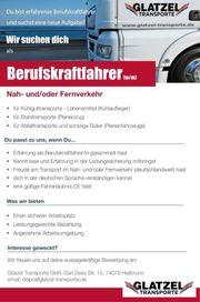 Berufskraftfahrer (m/w)