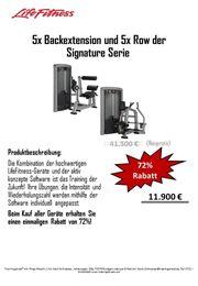 Lifefitness Signature Serie Row und