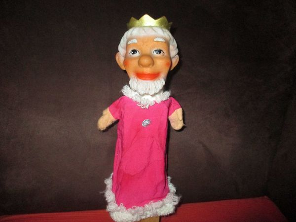 Ostalgie Konvolut Handpuppen ca.1980 5 DDR Puppen fürs Kasperle Theater