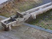 Kastenrinne Edelstahl 4500 mm Länge