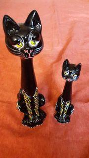 Wunderschöne Katzenfiguren