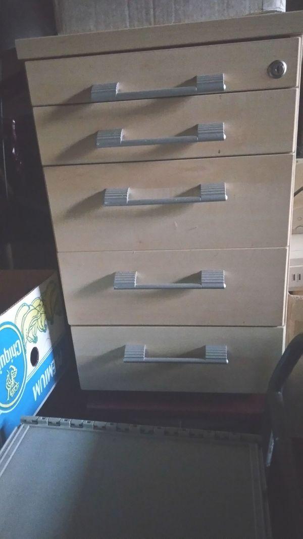 Schreibtisch Rollcontainer Schubladen Unterschrank In Meissenheim