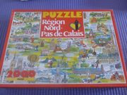 Französisches Puzzle 2000