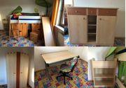Komplettes Kinderzimmer 8-teilig zu verkaufen