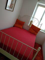 Gästebett Bett Ikea LEIRVIK 140x200