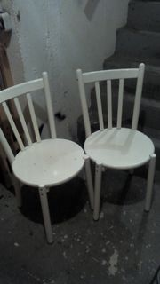 2 Holzstühle 5